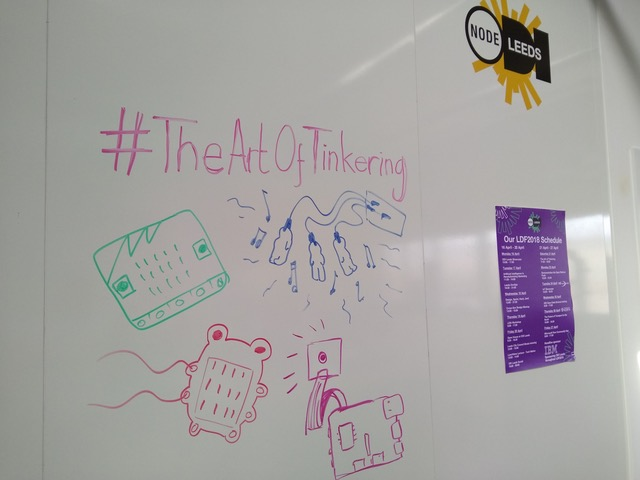 Headline image for The Art of Tinkering at #LeedsDigi18